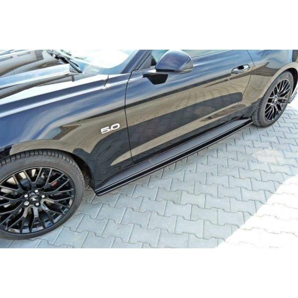 Paire de Diffuseurs Bas de Caisse Ford Mustang Mk6 Gt