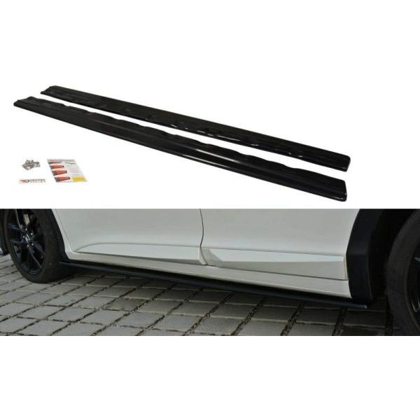 Paire de Diffuseurs Bas de Caisse Honda Civic Mk9 Facelift