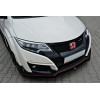 Lame pare-chocs avantv.1 Honda Civic 9 Type R