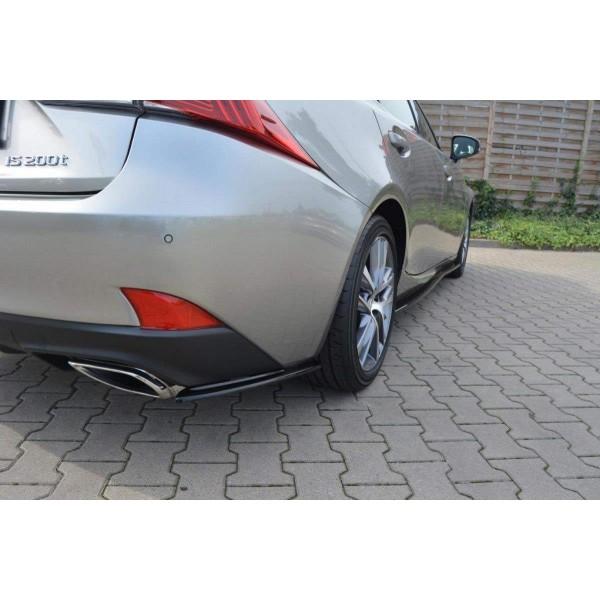 Rajout, lame pare-chocs Arriere Lexus Is Mk3 Facelift T