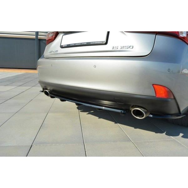 Rajouts splitter Arriere Central Lexus Is Mk3 T