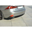 Splitter Arriere Central Lexus Is Mk3 T