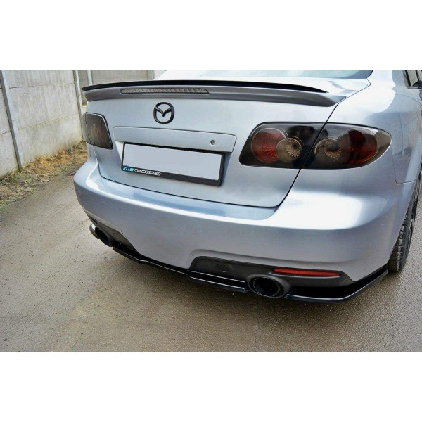 Splitter Arriere Central Mazda 6 Mk Mps