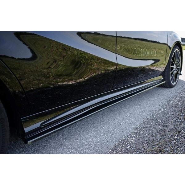 Paire de Diffuseurs Bas de Caisse Mercedes A W176 Amg Facelift