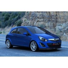 Rajout, spoiler pare-chocs Avant Opel Corsa D