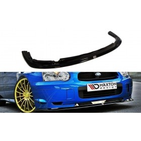 Lame, splitter pare-chocs Avant Subaru Impreza