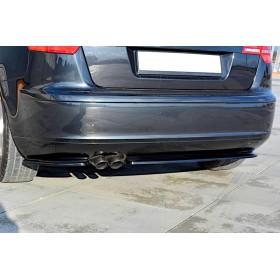 Rajouts pare-chocs arrière Audi A3 Sportback Mk2