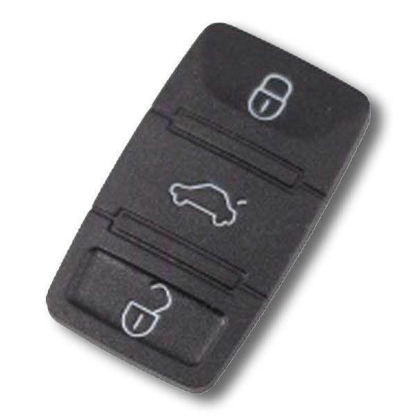 Bouton pour coque clé 3 boutons Seat