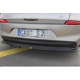 Diffuseur pare-choc arrière (barres verticales) Hyundai I30 Mk3