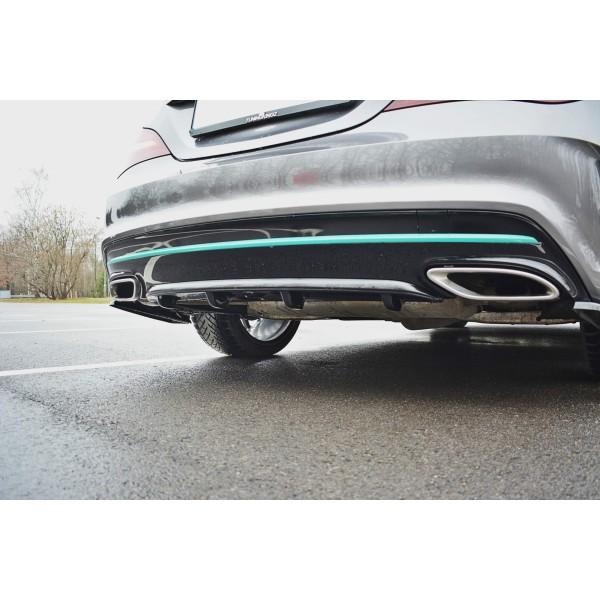 Rajout Pare-Chocs Arriere Mercedes C117 Amg CLA-Line Facelift