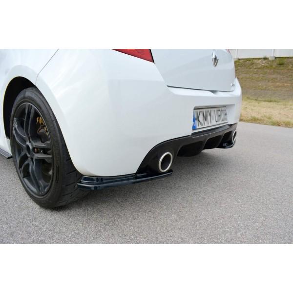 Rajouts pare-choc arrière Clio 3 RS Phase 2