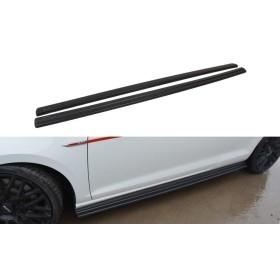 Extension bas caisse VW Golf Gti 7 avant et après Facelift