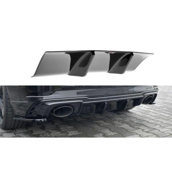 Diffuseur pare-choc arrière Audi Rs3 8V Facelift