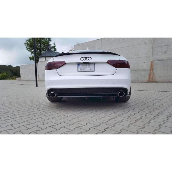 Splitter diffuseur arriere Central Audi A5 S-Line