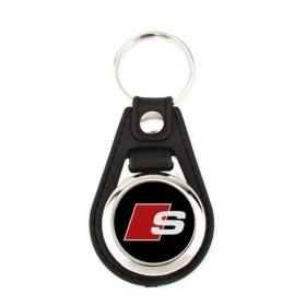 Porte-clé simili cuir Audi S-Line