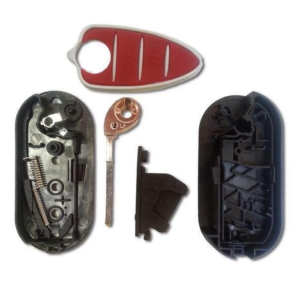 Coque de clé Alfa Mito, GTA, Brera, Giuletta, 159