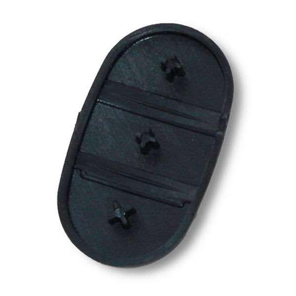 Bouton pour coque de clé 3 boutons Audi