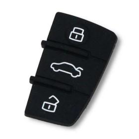 Bouton pour coque de clé Audi A1, A3, TT