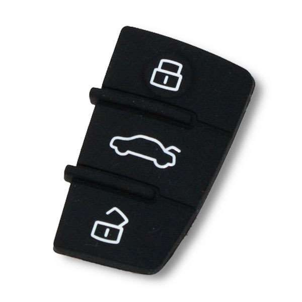 Bouton de remplacement coque de cle Audi A1, A3, TT