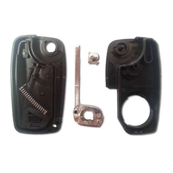 Coque clé Plip FIAT 2 boutons pile au dos