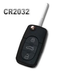 Coque de clé plip A2 A3 A4 A6 A8 RS4