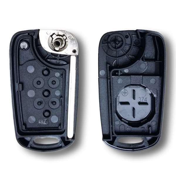 Coque de clé plip I10, I20, I30, IX35