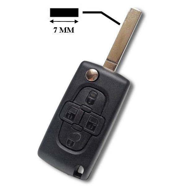 Coque de clé Plip C8, Berlingo