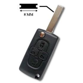 Boitier de clé Berlingo, C8