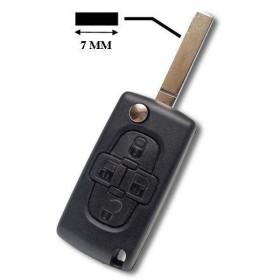 Coque clé plip Fiat Ulysse