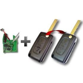 Réparation contacteurs et remplacement coque de clé lame pliante