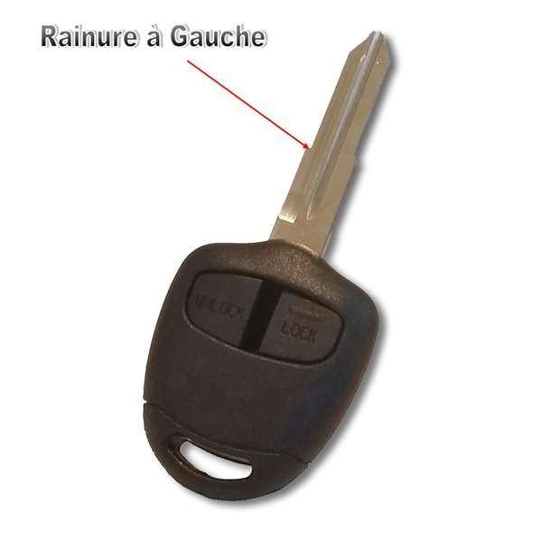 Boitier de clé Plip Pajero, L200, Galant, Lancer