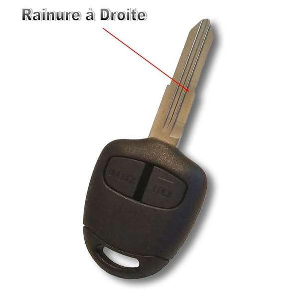 Coque de clé Mitsubishi L200, Colt, Galant