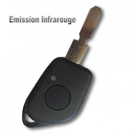 Coque de clé 406 - 1 Bouton infrarouge
