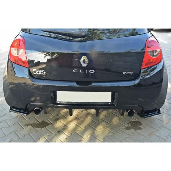 Lames de pare choc arrière Clio 3 RS