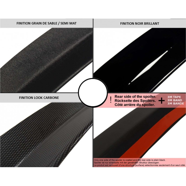 Becquet de toit clio MK3 RS