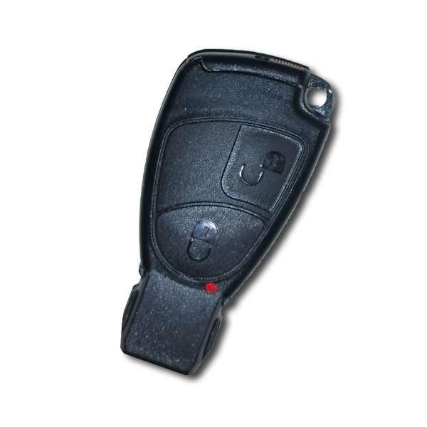 Boitier de clé 2 boutons Mercedes SLK, C, E, Classe B