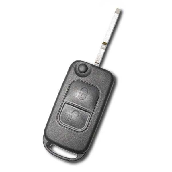 Boitier de clé 2 boutons Mercedes