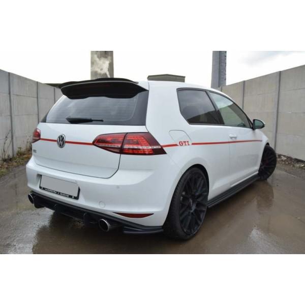 Rajouts pour Pare Choc arrière Golf 7 GTI