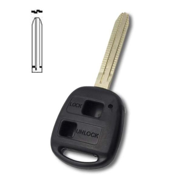 Coque clé plip ES300, GS300, GS400