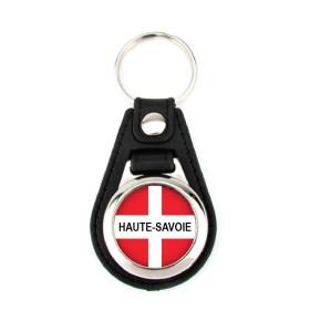 Porte-clé simili cuir Haute-Savoie