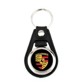 Porte-clé simili cuir Porsche