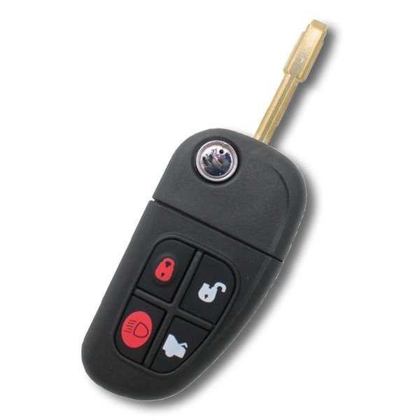 Boitier de clé Jaguar X-Type, S-Type, XJ