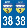 Stickers département Isère