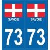 Stickers plaque Région Savoie