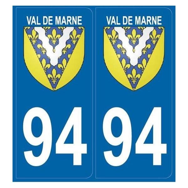 Stickers Blason 94 Val de Marne