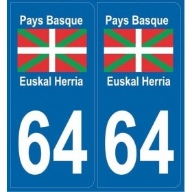 Stickers plaques Pays-Basque