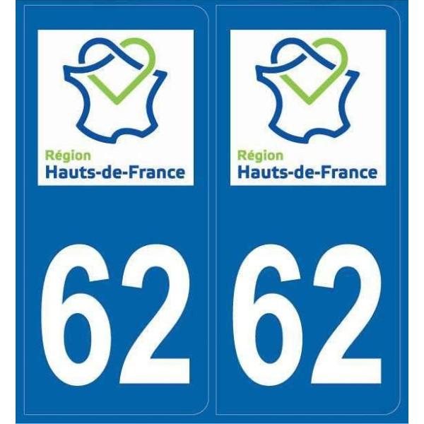 Stickers plaques Pas-de-Calais