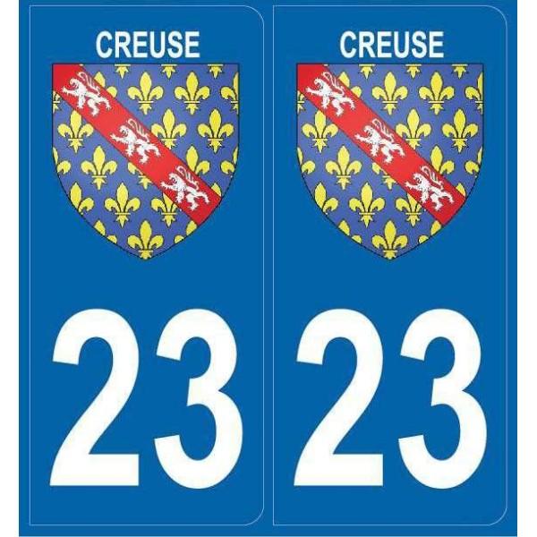 Autocollants Blason Creuse (23)