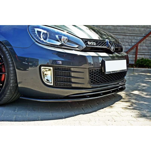 Lame Pare Choc avant Ver.2 VW Golf 6 GTI/GTD