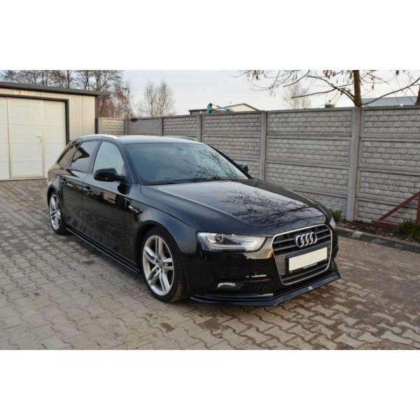 Lame Pare Choc avant V.2 Audi A4/ B8 Facelift